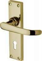 Marcus  PR900-PB Avon Lever Lock Door Handles Polished Brass £15.15