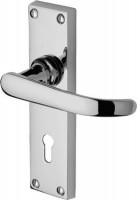 Marcus  PR900-PC Avon Lever Lock Door Handles Polished Chrome £11.00