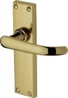 Marcus  PR905-PB Avon Lever Latch Door Handles Polished Brass £15.15