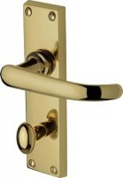 Marcus  PR920-PB Avon Lever Bathroom Door Handles Polished Brass £21.86