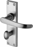 Marcus  PR920-SC Avon Lever Bathroom Door Handles Satin Chrome £15.24