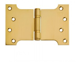 "Parliament Hinges Button Tipped XL979 4"" x 4\"" x 6\"" PVD Brass Per Pair £21.00"