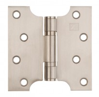 "Parliament Hinges Button Tipped XL974 4"" x 2"" x 4"" Satin Stainless Steel Per Pair £12.50"