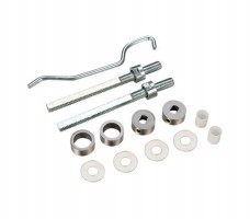 Zoo Back to Back Fixing Pack for 22mm Pull Handles Satin Stainless £15.79