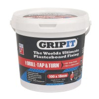 Gripit Red Plasterboard Fixings 18mm Tub of 100 £36.00