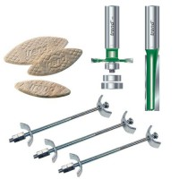 "Trend CR/KFP/3 Kitchen Fitters Pack Three 1/2"" Shank £68.09"