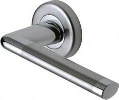 Marcus SC2352-AP Lena Round Rose Lever Door Handles Apollo Split Finish £16.48