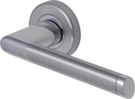 Marcus SC4692-AP Mercury Round Rose Lever Door Handles Apollo Split Finish £16.49