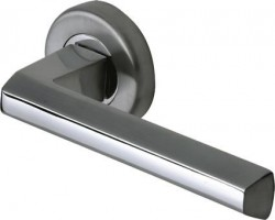 Marcus SC4754-AP Deda Round Rose Lever Door Handles Apollo Split Finish £16.48