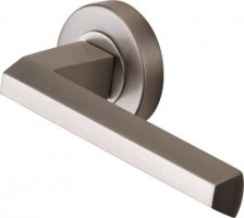 Marcus SC4754-SN Deda Round Rose Lever Door Handles Satin Nickel £20.31