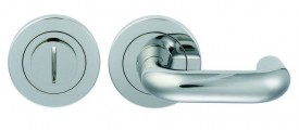 Steelworx Disabled Lever Turn & Release SW105BSS Grade 316 Polished Stainless Steel £39.65