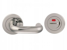 Steelworx Disabled Lever Turn & Release c/w Indicator SW105iBSS Grade 316 Polished Stainless Steel £39.65
