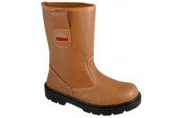 Blackrock Fur Lined Rigger Safety Boots Size 8 £35.18