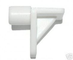 5mm Push in Shelf Support White Pack of 25 £0.84