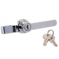 384B Ratchet Glass Showcase Lock Polished Chrome £6.44