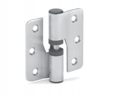 Toilet Cubicle Hinges 80mm Gravity Left Hand T100PL Polished Stainless Pair £23.21