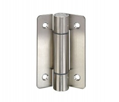 Toilet Cubicle Hinge Non-Adjustable Unsprung T121SM Grade 316 Satin Stainless Single £20.71