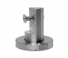 Toilet Cubicle Leg 20mm T341S Satin Stainless £20.34