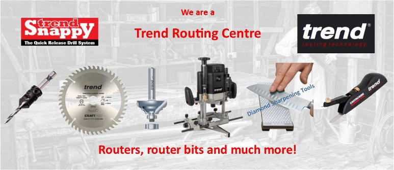 Trend Routing Products and Power Tool Accessories.