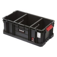 Trend Modular Storage Compact System Tote MS/C/200TD 200mm with Dividers £27.38