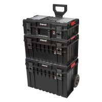 Trend Modular Storage Pro Cart Set 3 Piece MS/P/SET3C £219.45
