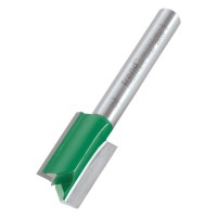 TrendRouter Cutter Straight Two Flute C164AX1/4TC 13mm Dia x 20mm Cut £22.79