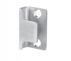 U Shaped Keep for Toilet Cubicle Door Lock 13mm & 20mm Board T270P Polished Stainless £7.99
