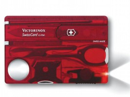 Victorinox Swiss Card Lite Red Translucent £28.56