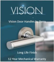 Vision Door Handles by Perry.