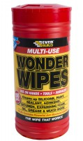 Everbuild Wonder Wipes 100 Size Tub £5.75