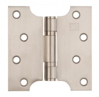 "Parliament Hinges Button Tipped XL974 4"" x 2\"" x 4\"" Satin Stainless Steel Per Pair £12.50"