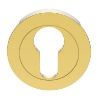 Carlisle Brass Euro Profile Escutcheon AA1 Polished Brass £6.96