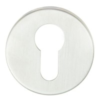 Eurospec Steelworx Euro Profile Escutcheon CSE1005SSS G304 Satin Stainless Steel £2.57