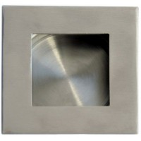 Flush Handle Square Secret Fix 30mm Satin Stainless Steel £4.27