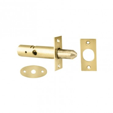 Door Security Bolt Eurospec DSB8225EB Brass