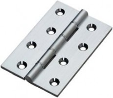 100mm Butt Hinge HDSSW5CP Polished Chrome per single £8.11