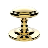 Carlisle Brass Centre Door Knob Round M61 Polished Brass £28.95