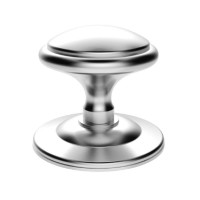 Carlisle Brass Centre Door Knob Round M61SC Satin Chrome £30.86